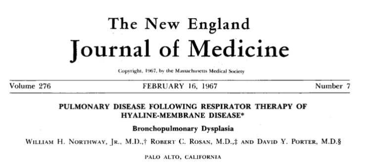 Bronchopulmonary Dysplasia Symposium